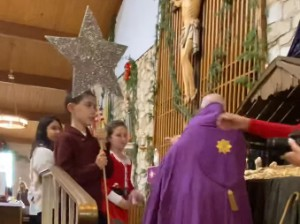 Children's Procession with Crèche Statues Continued